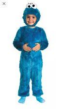 CHILDRENS UNISEX SESAME STREET COOKIE MONSTER FANCY DRESS COSTUME Size 3T/4T