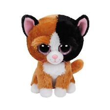 "TY TAURI THE CAT BEANIE BOO 6"" SOFT TOY PLUSH 36 MONTHS+ WITH HEART TAG"