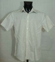 MENS BEN SHERMAN SHIRT SHORT SLEEVE COTTON SIZE M VGC