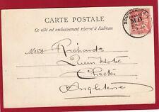More details for saint malo pont roulant  1903 southampton moveable box mb postmark ak844