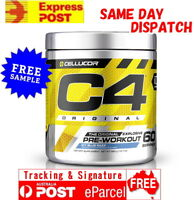 CELLUCOR C4 ID SERES 60 SERVES FREE EXPRESS AUS POST PRE WORKOUT ALL FLAVOUR