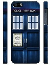 Doctor Who TARDIS iPhone 4S 5 6 6S 7 8 X XS Max XR 11 Pro Plus SE Case Cover 4