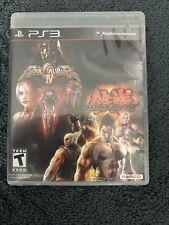 Soul Calibur IV & Tekken 6 Sony PlayStation 3 PS3 Fighting Video Game Complete
