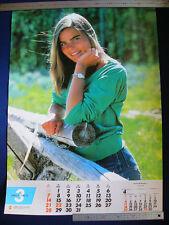 1982 Mariel Hemingway Japan VINTAGE POSTER 20x29 VERY RARE