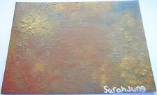 Original Painting by Sarah Jung, Antique Abstract, Mixed Media