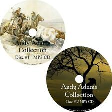 Andy Adams Audio Book Collection Cowboy Western Unabridged English 2 MP3 CDs