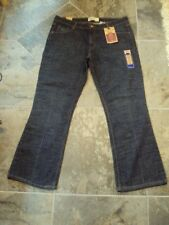 Women's Levi Strauss Signature Low Rise Boot Cut Jeans 16S 16 Short NWT