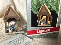 Hallmark Keepsake Magic Ornament Lighted Little Drummer Boy 1989