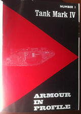 Armour in Profile - n° da 1 a 24 rilegati (no n° 2) - Profile Publications 1967