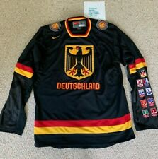 Authentic Nike IIHF Germany Duestchland Hockey Jersey Sweater Size S