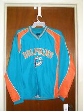 NFL Miami Dolphins Football Apparel Slotback Pullover Medium Sports Shirts Adult