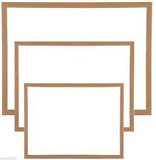 60cm X 40cm Heavy Duty Magnetic Dry Wipe Whiteboard Wooden Framed Memo Notice &