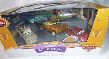 Disney Store Disney Pixar Cars Deluxe Low Rider Set 5-Pack Ramone Mater Flo NEW