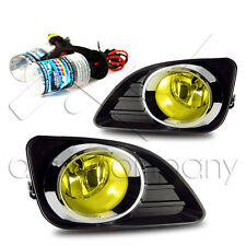 2010-2011 Toyota Camry Fog Light w/Wiring Kit & HID Conversion Kit - Yellow