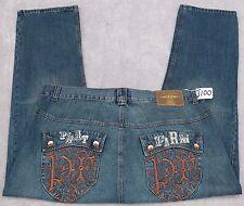 PHAT CLASSICS Jean Pants For Men W44 X L32. TAG NO. J100