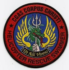 "USCG Corpus Christi, Texas USCG patch ""Helicopter rescue swimmer, CGAS"" 4-1/2 in"