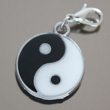 """ Ying Yang "" Charm Anhänger,Bettelarmband Charms,  (1688)"
