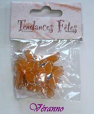 10 petits papillons orange. Hobi. Décoration de mariage