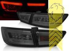 Light Bar LED Rückleuchten Heckleuchten für Renault Clio 4 schwarz smoke
