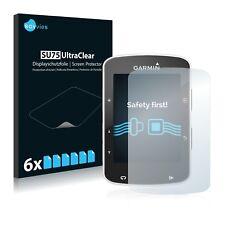 6x Displayschutzfolie für Garmin Edge 820 Schutzfolie Klar Folie Displayfolie