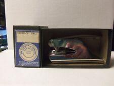 Vintage Chrome Seal Embosser Stamp w/ box ~ Rachel's, Inc