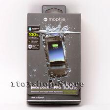 mophie Juice Pack H2PRO Waterproof iPhone 6 iPhone 6s Battery Case - Black Used