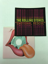 THE ROLLING STONES-EMOTIONAL RESCUE-PROMO-VINYL 9.2, SLEEVE 9.4