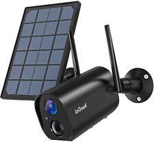 ieGeek Solar Security Camera Outdoor Wireless 1080P WiFi CCTV