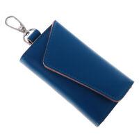 Porte-clés en cuir Porte-clés Anneaux de chaîne Sac Portefeuille Pochette