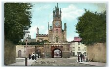 Vintage Picture Postcard East Gate Warwick