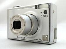 Fujifilm FinePix F10 6.3MP Silver Digital Compact Camera + Memory Card & Battery