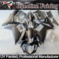 For Suzuki GSXR 600 GSX-R 750 2011-2019 Matte Black Injection Fairing Kit K11 18