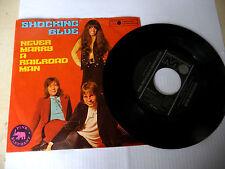 """SHOCKING BLUE""""NEVER MARRY A RMAN-disco 45 giri METRONOME Ger 1970"""" PERFETTO"""