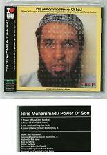 IDRIS MUHAMMAD Power Of Soul CD JAPAN KICJ-2222 Jimi Hendrix Joe Beck s4261