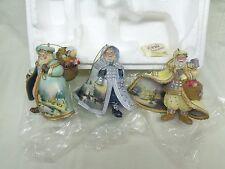 "2003 Thomas Kinkade ""Old World Santa"" Ornaments: Set of (3)"