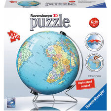 NEW!!  Ravensburger World Globe 540 piece 3D Jigsaw PuzzleBall RB124367 Genuine