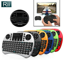 Genuine Rii i8+ 2.4Ghz Wireless Mini Keyboard + Mouse Touchpad + Backlight, blk