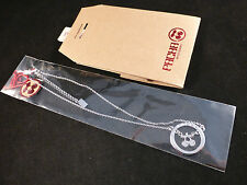 Pacha Ibiza Silver Enclosed Cherry Logo Necklace with Gift Bag