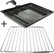 Grill Pan + Handle + Rack + Adjustable Extendable Shelf for SMEG Oven Cooker