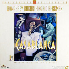 CASABLANCA 50TH ANN. CELEBRATION CC RM BOX SET NTSC LASERDISC Humphrey Bogart