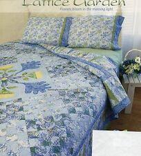 Lattice Garden Quilt Pattern Pieced/Applique GT