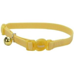 Safe Cat® Adjustable Snag-Proof Nylon Breakaway Collar, Banana Boat