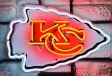 "New Kansas City Chiefs Neon Light Sign 17"" Hd Vivid Printing Technology"