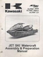 2009 KAWASAKI JET-SKI ULTRA LX, 260X,260LX  ASSEMBLY & PREPARATION MANUAL (326)