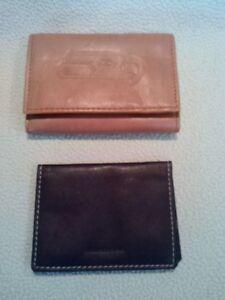 Seattle Seahawks Wallet Embossed Leather Billfold NFL & Business Card Holder