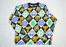 Medium Vintage Versace Jeans Couture Patterned Sweatshirt