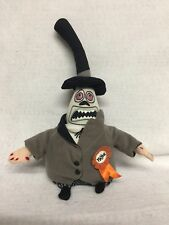 The Nightmare Before Christmas Mayor, Disney Store bean bag plush with 2 faces