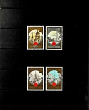 USSR RUSSIA STAMP. MNH-OG. Complet-4 timbres Olympiade 1980. Tourisme. SG 1855.