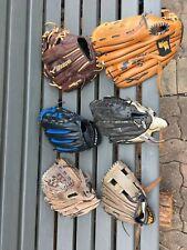 MIZUNO SSK EASTON BRETT BROS Leather Baseball Glove Set