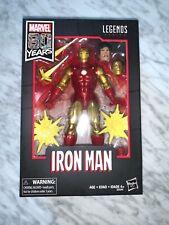 "Marvel Legends 6"" Comics 80 Years Classic Iron Man Tony Stark New Sealed"